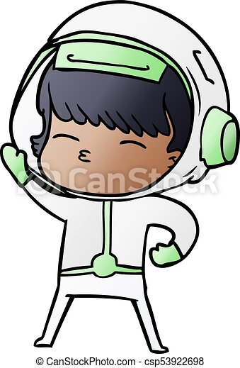 cartoon astronaut eps vectors search clip art illustration rh canstockphoto ca clipart astronaut helmet clipart astronaute