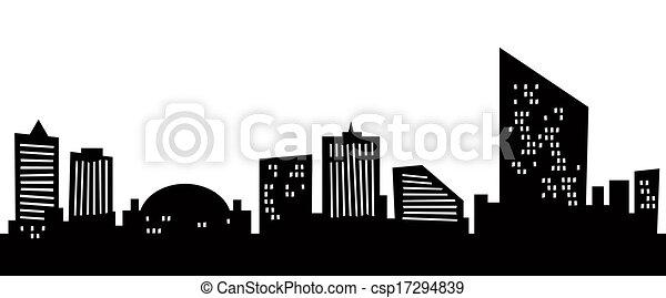 Cartoon Atlantic City - csp17294839