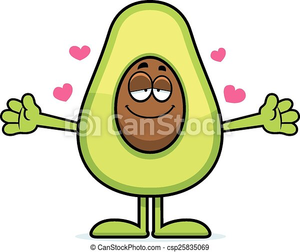 cartoon avocado hug a cartoon illustration of an avocado clip rh canstockphoto com hud clip art hug clipart free