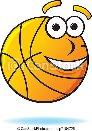 Bouncing Basketballs Clipart