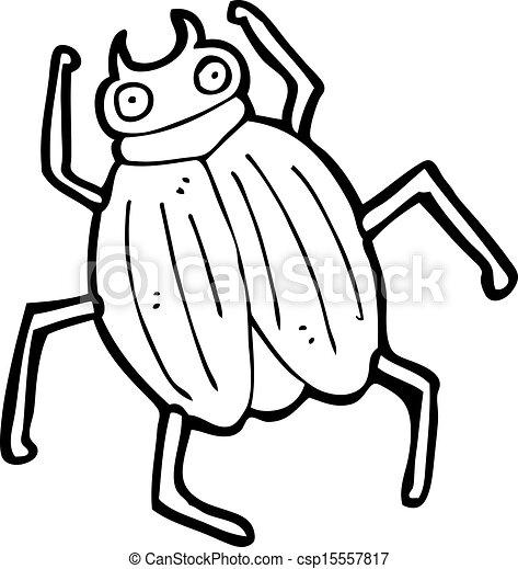 cartoon beetle - csp15557817
