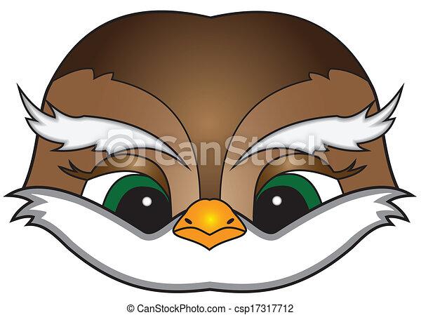 Cartoon bird - csp17317712