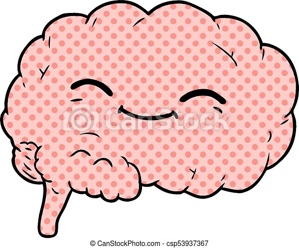 cartoon brain clip art vector search drawings and graphics images rh canstockphoto com free clipart images brain free brain clipart images