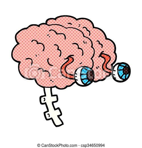 freehand drawn cartoon brain eps vectors search clip art rh canstockphoto com brain pictures clip art