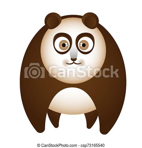 cartoon brown bear - csp73165540