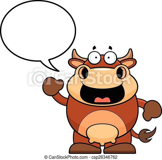 cartoon brown cow talking cartoon illustration of a brown clip rh canstockphoto com clip art talking on phone clip art talking bible