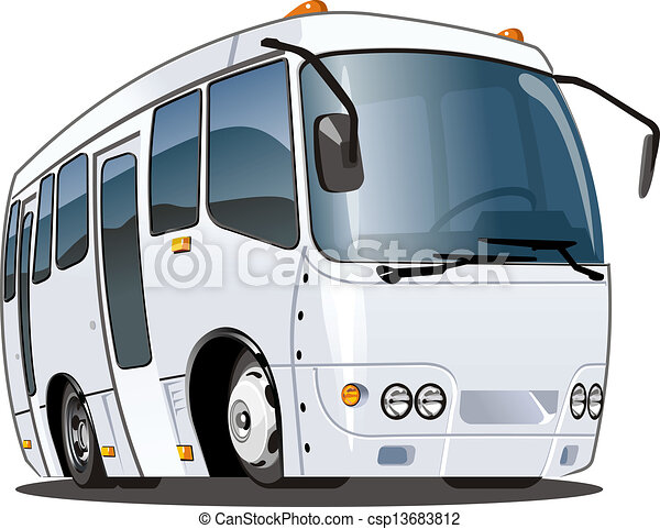 Cartoon bus - csp13683812