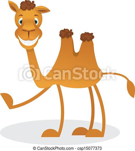 Cartoon camel - csp15077373