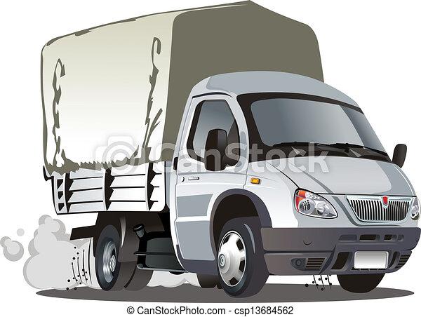 Cartoon car - csp13684562