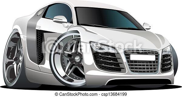 Cartoon car - csp13684199