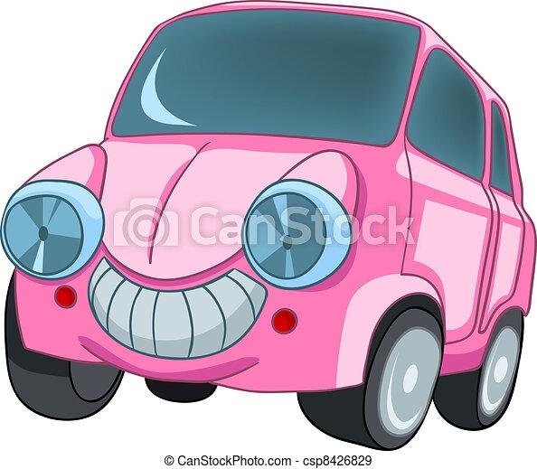Cartoon Car - csp8426829