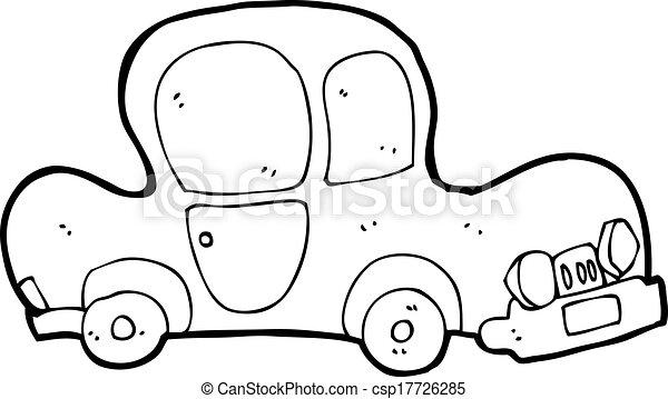 cartoon car - csp17726285