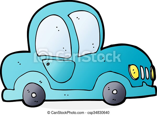 cartoon car - csp34830640