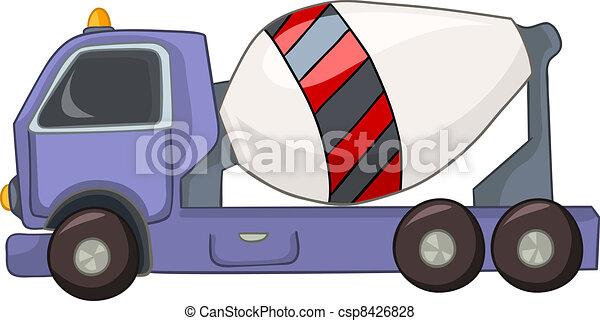 Cartoon Car - csp8426828