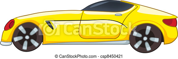 Cartoon Car - csp8450421