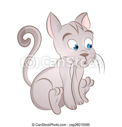 Cartoon cat - csp26015595