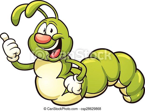 cartoon caterpillar with thumbs up vector clip art clip art rh canstockphoto com caterpillar clipart black and white caterpillar clip art black and white