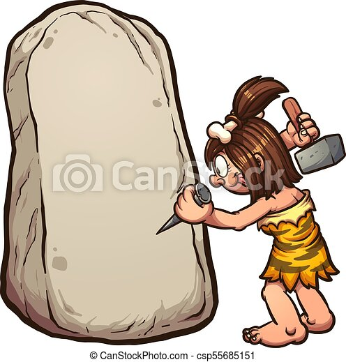 cartoon cave woman cartoon cavewoman writing on stone vector clip rh canstockphoto com cartoon viking woman clipart cartoon viking woman clipart