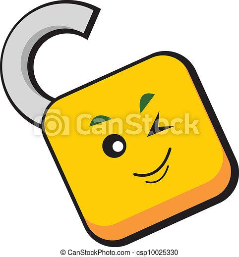 cartoon character - csp10025330