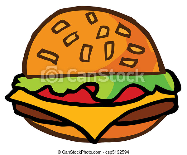 cartoon cheeseburger illustration fast food hamburger eps vector rh canstockphoto co uk bacon cheeseburger clipart cheeseburger clipart free