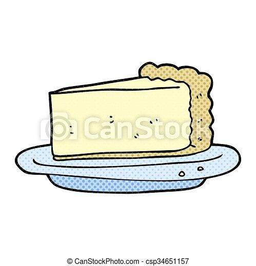 cartoon cheesecake - csp34651157