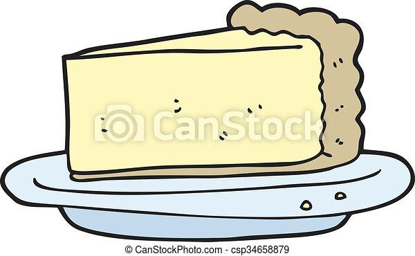 cartoon cheesecake - csp34658879