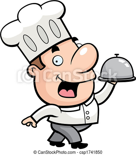 Cartoon Chef - csp1741850