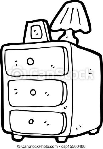 cartoon chest of drawers - csp15560488