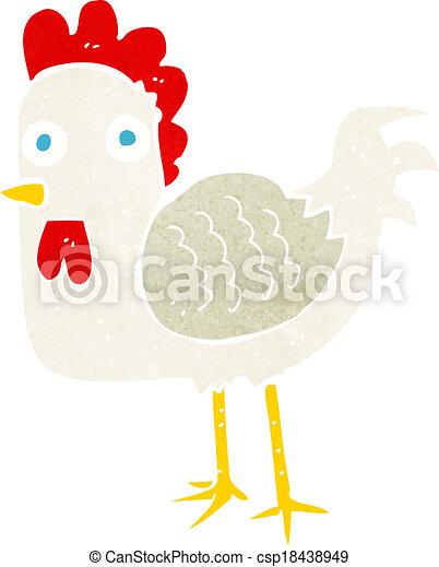 cartoon chicken - csp18438949
