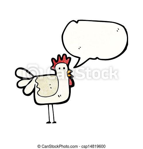 cartoon chicken - csp14819600