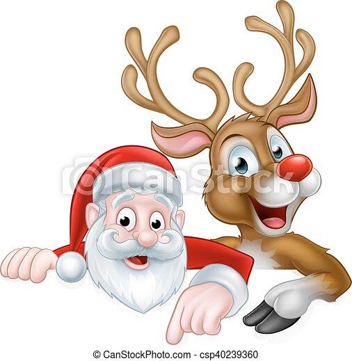 Reindeer Clipart Friend - Santas Sleigh Clip Art - Png Download (#563815) -  PinClipart