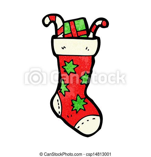 Christmas Stockings Cartoon.Cartoon Christmas Stockings