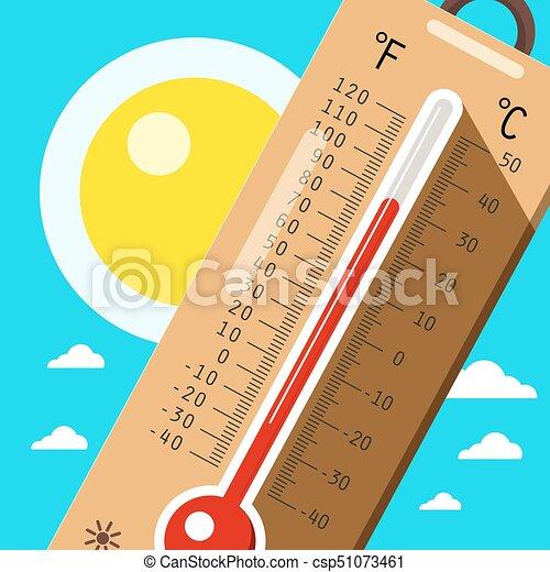 Termometro Con Cielo Y Sol Hace Calor En Verano Dibujos Animados Canstock 0 ratings0% found this hemos encontrado que lo ms fcil es guardar el termmetro del estado de animo cerca de su cama. termometro con cielo y sol hace calor