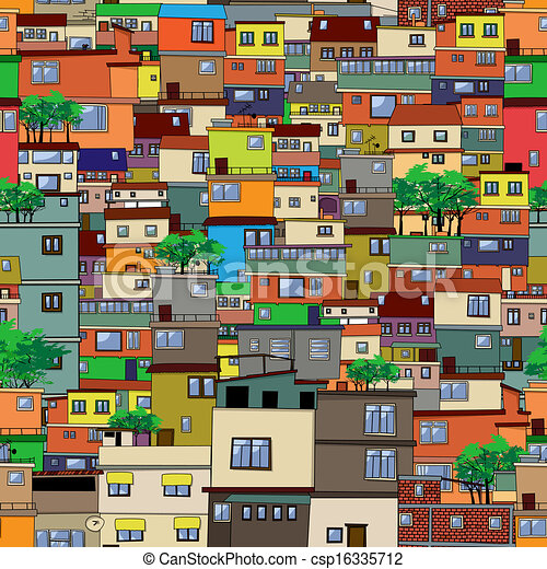 Cartoon city - csp16335712