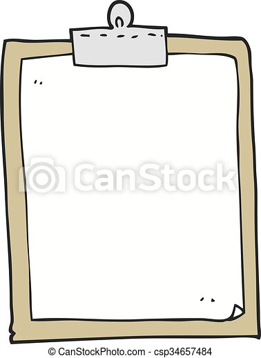 freehand drawn cartoon clipboard vector search clip art rh canstockphoto com clipboard clipart black clipboard clipart images