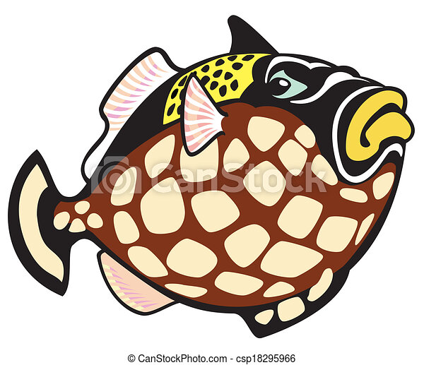 Triggerfish Vector Clip Art Illustrations 38 Clipart EPS Drawings Available To Search From Thousands Of Royalty Free Illustration