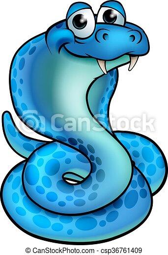 Cartoon Cobra Snake - csp36761409