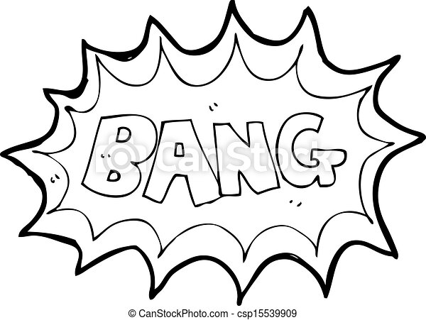 cartoon comic book explosion - csp15539909