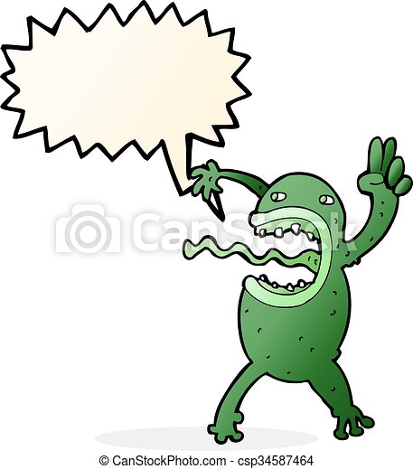 cartoon crazy frog with speech bubble clip art vector search rh canstockphoto com Frog Prince Cute Frog Silhouette