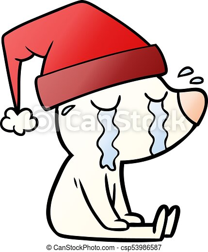 cartoon crying sitting polar bear vector search clip art rh canstockphoto ie sitting clipart images baby sitting clipart