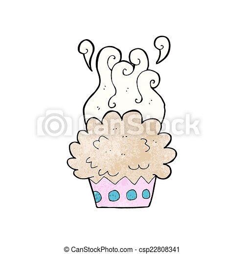cartoon cup cake - csp22808341