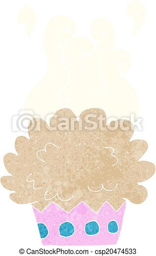 cartoon cup cake - csp20474533