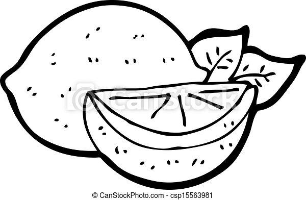 Cartoon cut lemon vector - Search Clip Art, Illustration ...