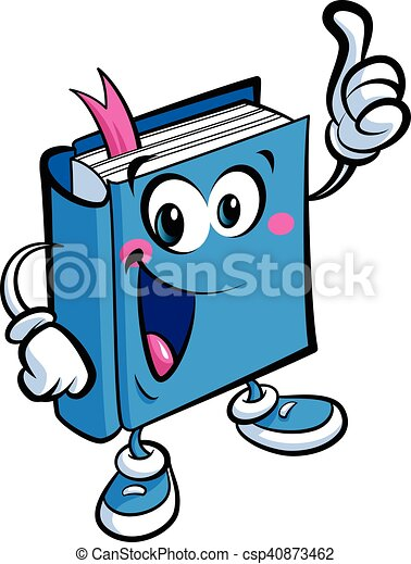 Cartoon Cute Book Mascot Character An Education And Learning Concept Cartoon Vector Illustration Of A Friendly Book