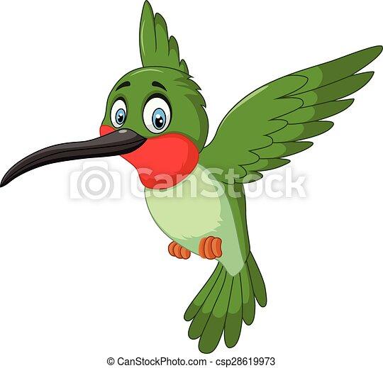 Cartoon cute small bird - csp28619973
