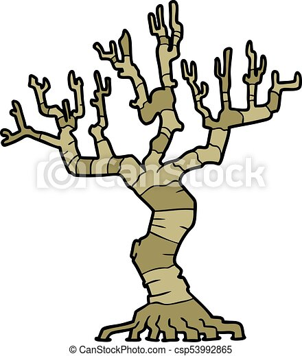 cartoon dead tree clip art vector search drawings and graphics rh canstockphoto com