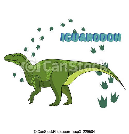 Cartoon dinosaur vector illustration - csp31229504