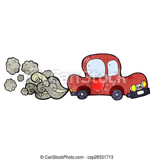 cartoon dirty old car - csp28331713