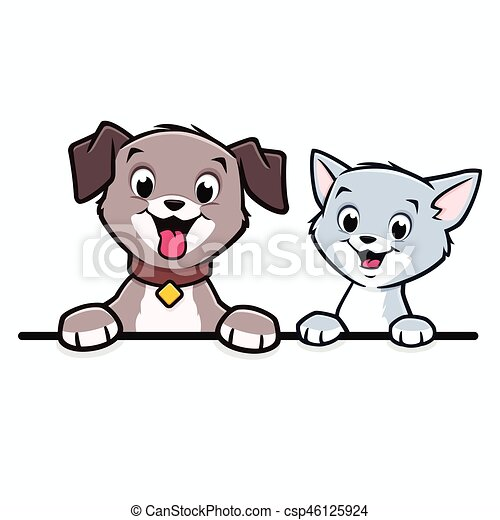 cartoon dog cat animal frame border cartoon dog cat for tiger clipart free black and white for adults daniel tiger clip art free