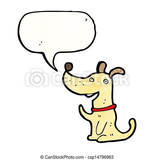 cartoon dog - csp14796963